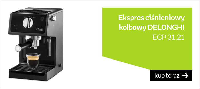 Ekspres ciśnieniowy kolbowy DELONGHI ECP 31.21