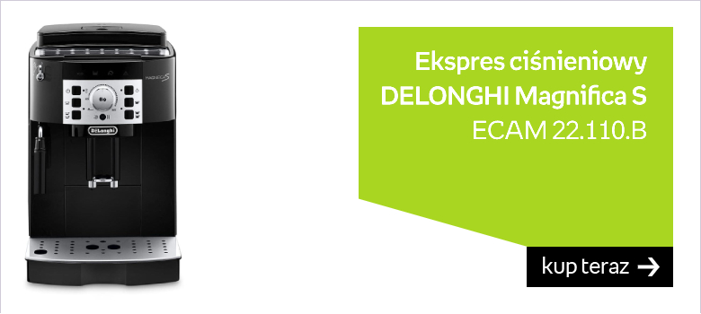 Ekspres ciśnieniowy DELONGHI Magnifica S ECAM 22.110.B