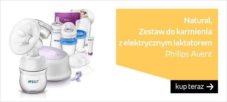 Philips Avent, Natural, Zestaw do karmienia z elektrycznym laktatorem