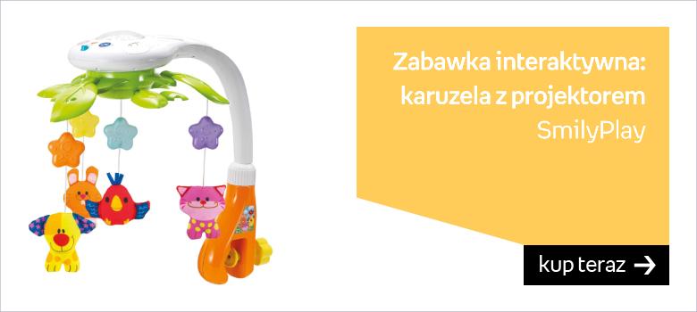 SmilyPlay, zabawka interaktywna Karuzela z projektorem