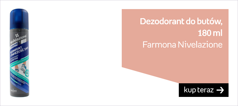 Farmona Nivelazione, dezodorant do butów, 180 ml