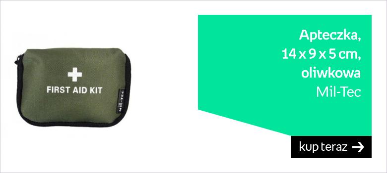 Apteczka Mil-Tec mała 14 x 9 x 5 cm oliwkowa