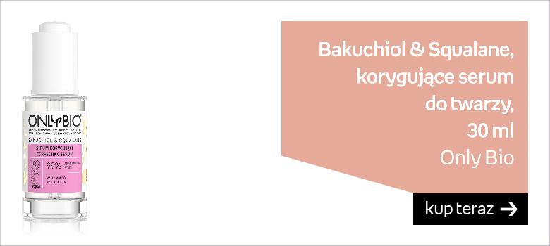 OnlyBio, Bakuchiol & Squalane, korygujące serum do twarzy, 30 ml