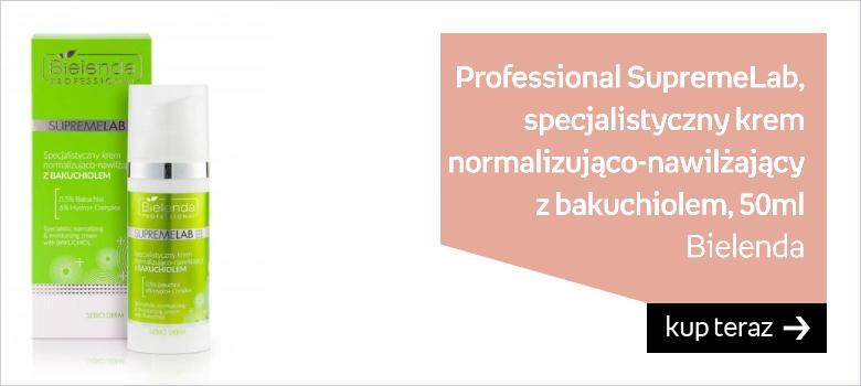 Bielenda, Professional SupremeLab, specjalistyczny Krem Normalizująco-Nawilżający z Bakuchiolem, 50ml