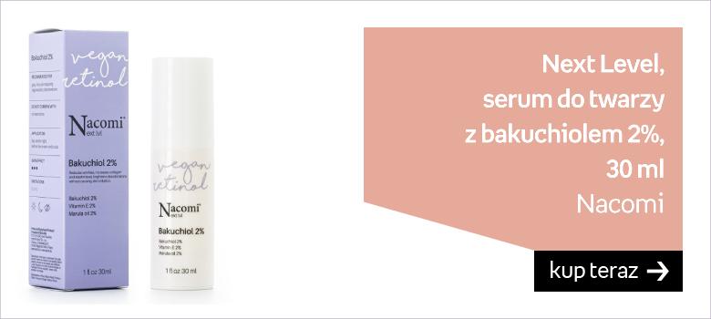 Nacomi, Next Level, serum do twarzy bakuchiol 2%, 30 ml
