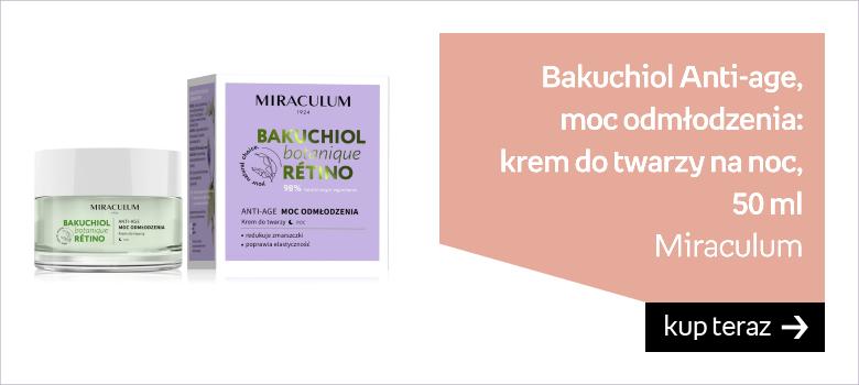 MIRACULUM Bakuchiol Anti-age Moc Odmłodzenia Krem Do Twarzy Na Noc 50 ml