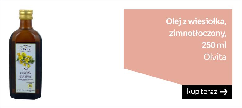 Olvita, Olej z wiesiołka, zimnotłoczony, 250 ml