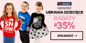 Ubrania dziecięce - Dadak - nowość - rabaty do -35%