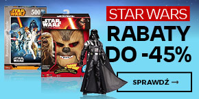 Star Wars rabaty do -45%
