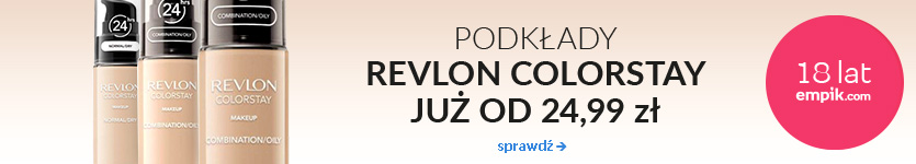 Podkłady revlon Colorstay od 24,99zł