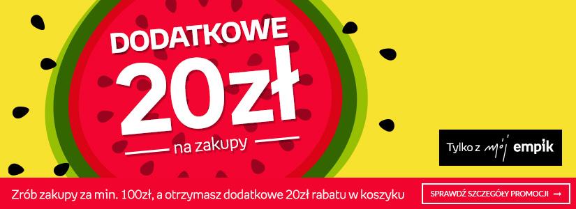 Rabat 20zł na wszystko (MWZ 100zł) - empik.com