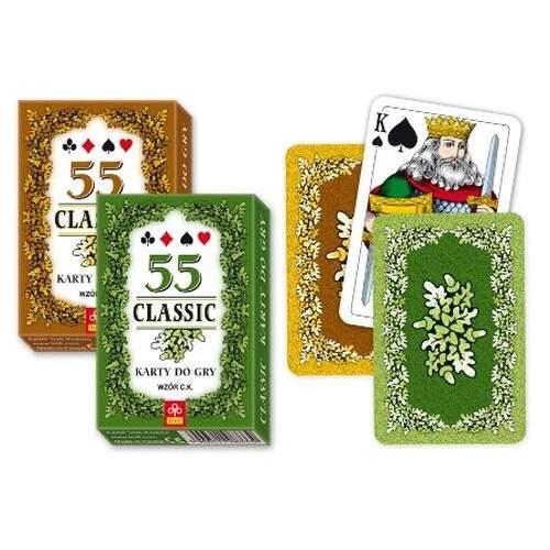 Trefl, Karty Classic, 55 Sztuk 66462903