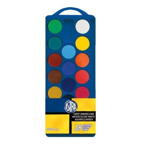Farby Akwarelowe, 18 Kolorów 66127741