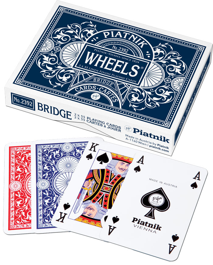 Piatnik, karty Wheels, 2 talie 25346978