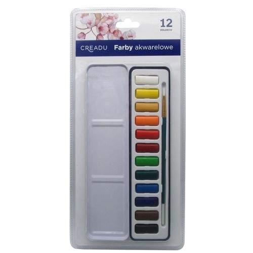 Farby Akwarelowe, 12 Kolorów, C 18888867