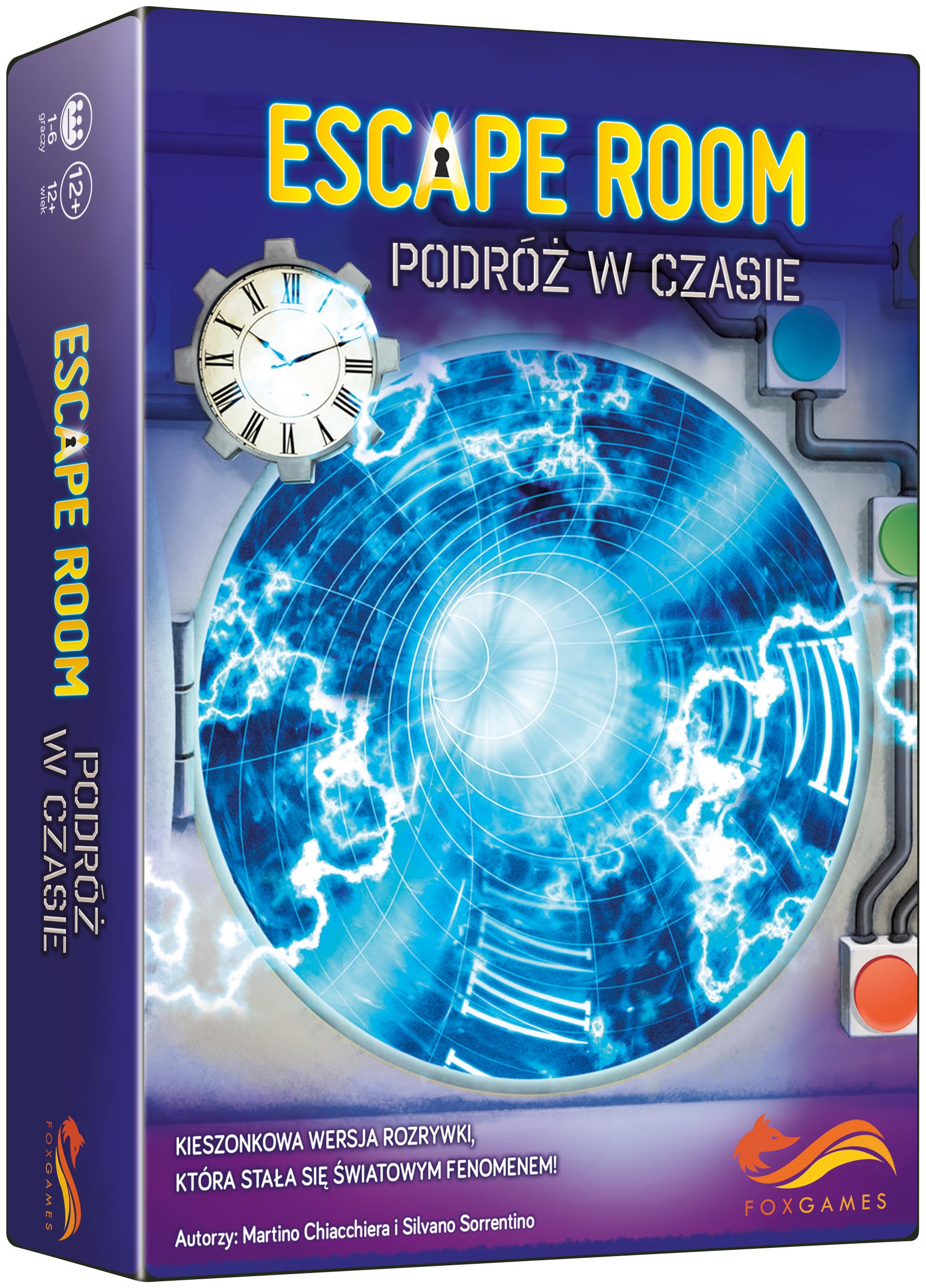 FoxGames, gra logiczna Escape Room. Podróż w czasie.  27093276