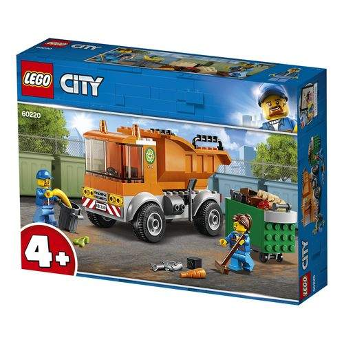 Lego City, Klocki Śmieciarka, 6 30992900