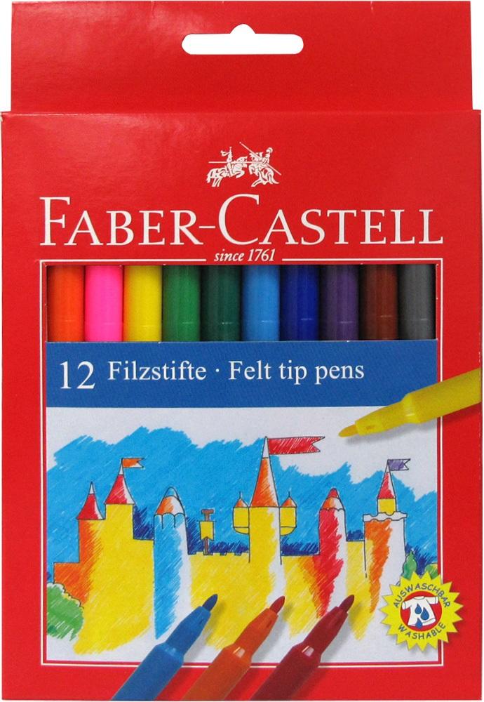 Flamastry Zamek, 12 Kolorów 19548203