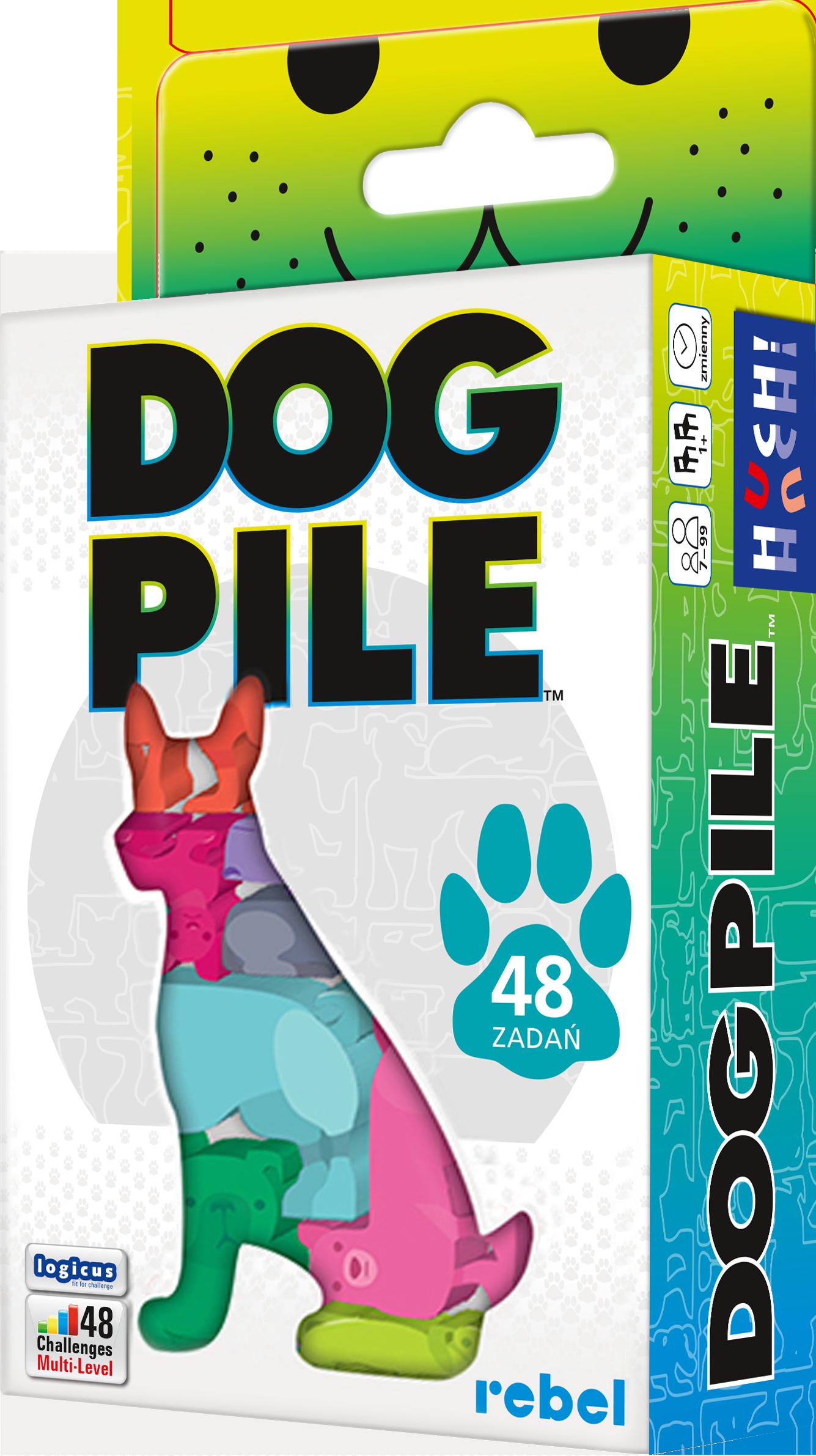 Rebel, łamigłówka Dog Pile (edycja polska) 33304250