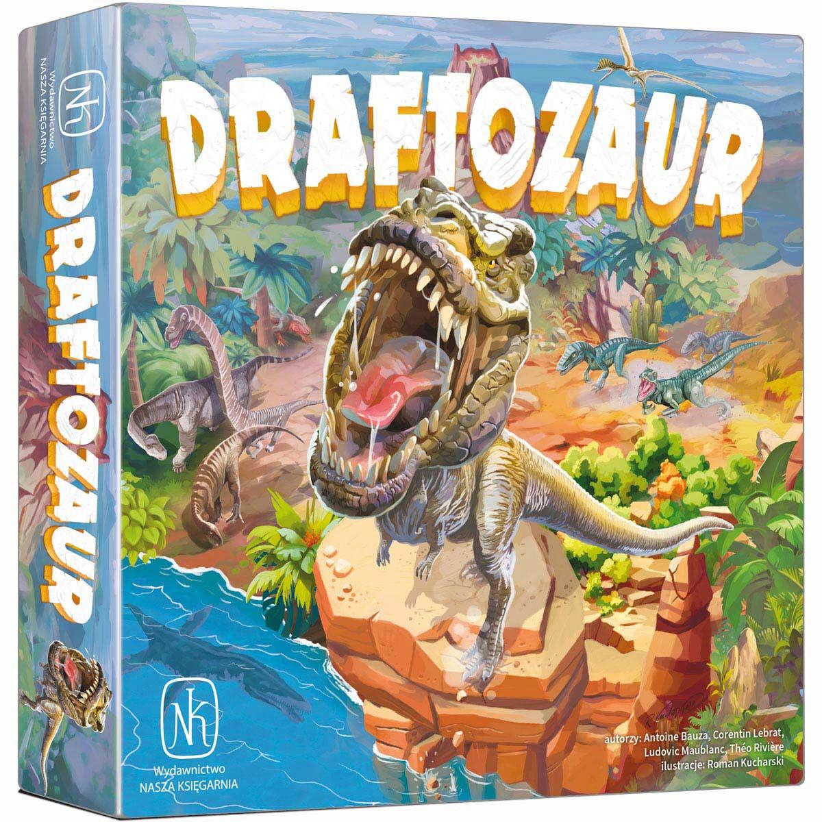 Nasza Księgarnia, gra strategiczna Draftozaur 36225422