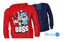 Bluzy, swetry dla chłopca