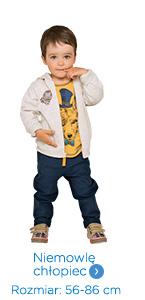Ubrania niemowlęce dla chłopca