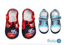 Niemowlęce buty dla chłopca
