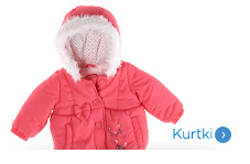 Niemowlęce kurtki dla dziewczynki