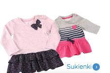 Spódnice i sukienki niemowlęce dla dziewczynki