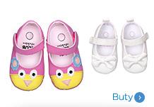 Niemowlęce buty dla dziewczynki