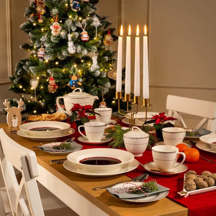 Aranżacja na świąteczny stół