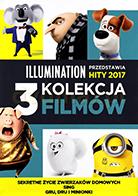 'Kolekcja Illumination 2017: Sekretne życie zwierzaków, Sing, Gru Dru i Minionki' Chris Renaud, Yarrow Cheney, Garth Jennings, Kyle Balda, Pierre Coffin