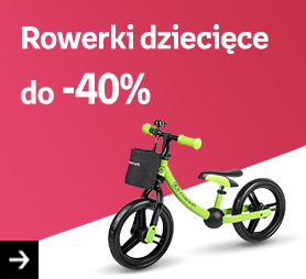 Rowerki dziecięce do -40%
