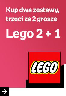 Lego 2 + 1 - Kup dwa zestawy, trzeci za 2 grosze