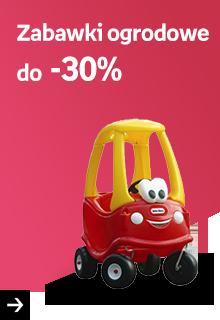 Zabawki ogrodowe do -30%