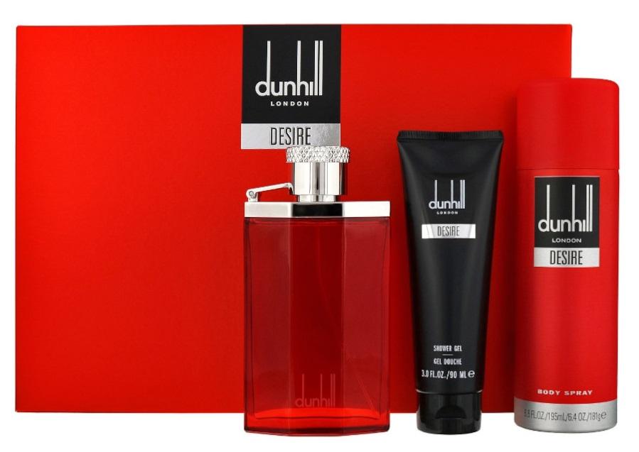 Dunhill Desire Red Men zestaw kosmetyków 3 szt.a