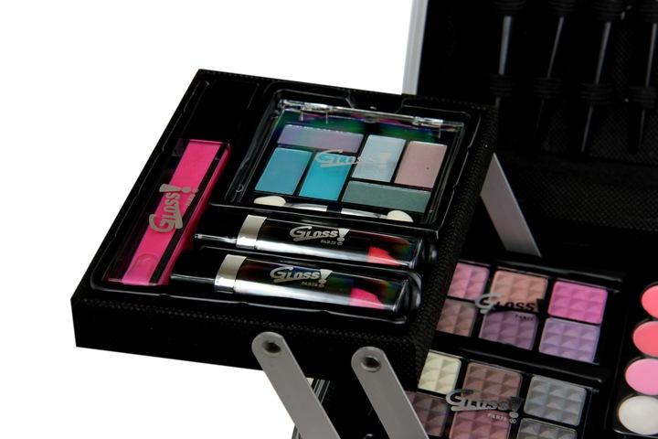Gloss zestaw do makijażu z kuferkiem a