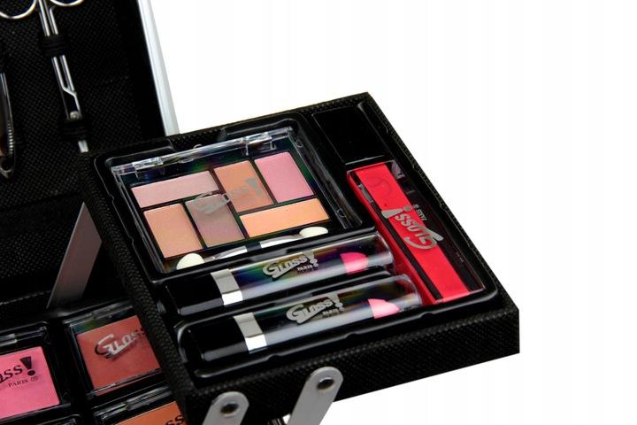 Gloss zestaw do makijażu z kuferkiem b