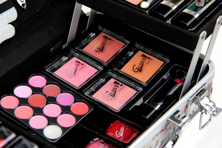 Gloss zestaw do makijażu z kuferkiem c