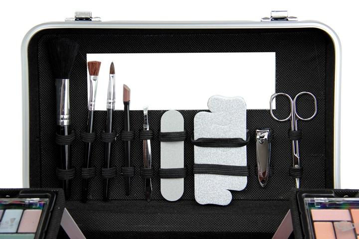Gloss zestaw do makijażu z kuferkiem e