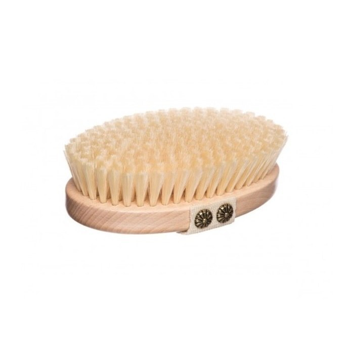 Brista, szczotka do mycia i masażu ciała na sucho, 1 szt.