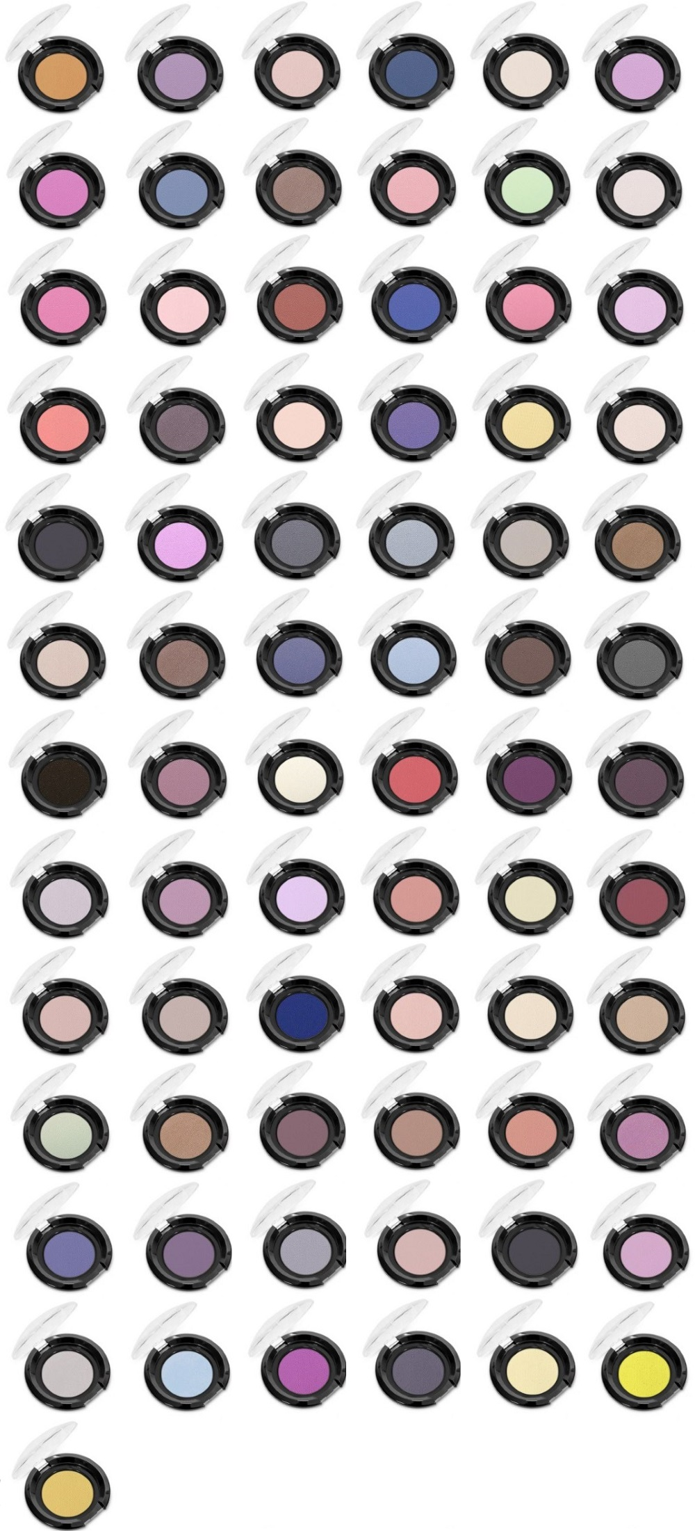 Affect Colour Attack - paleta cieni matowych