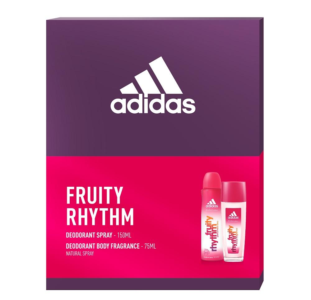 Adidas Fruity Rhythm zestaw kosmetyków 2 szt.