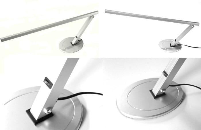 Activ, lampka kosmetyczna na biurko 20W biała, 1 szt.b