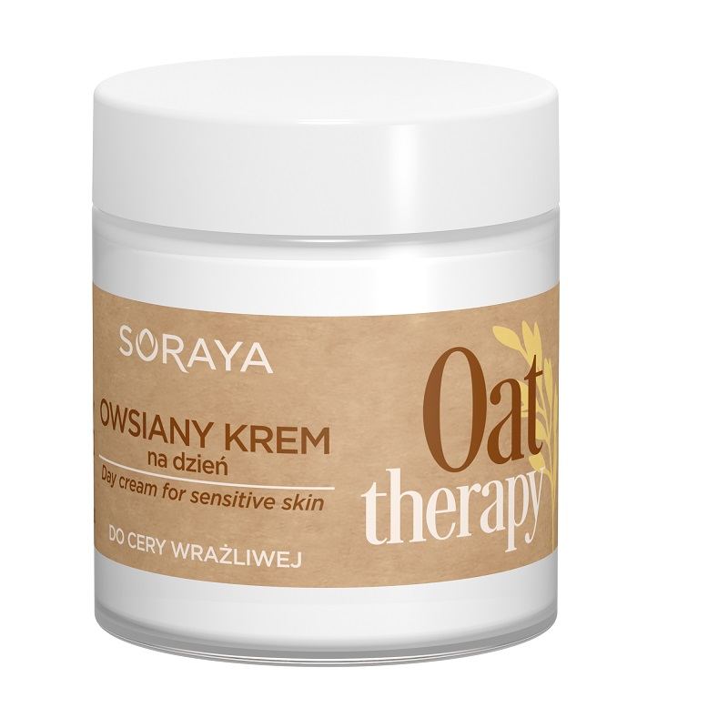 Soraya Oat Therapy owsiany krem do twarzy na dzień do cery wrażliwej 75 ml